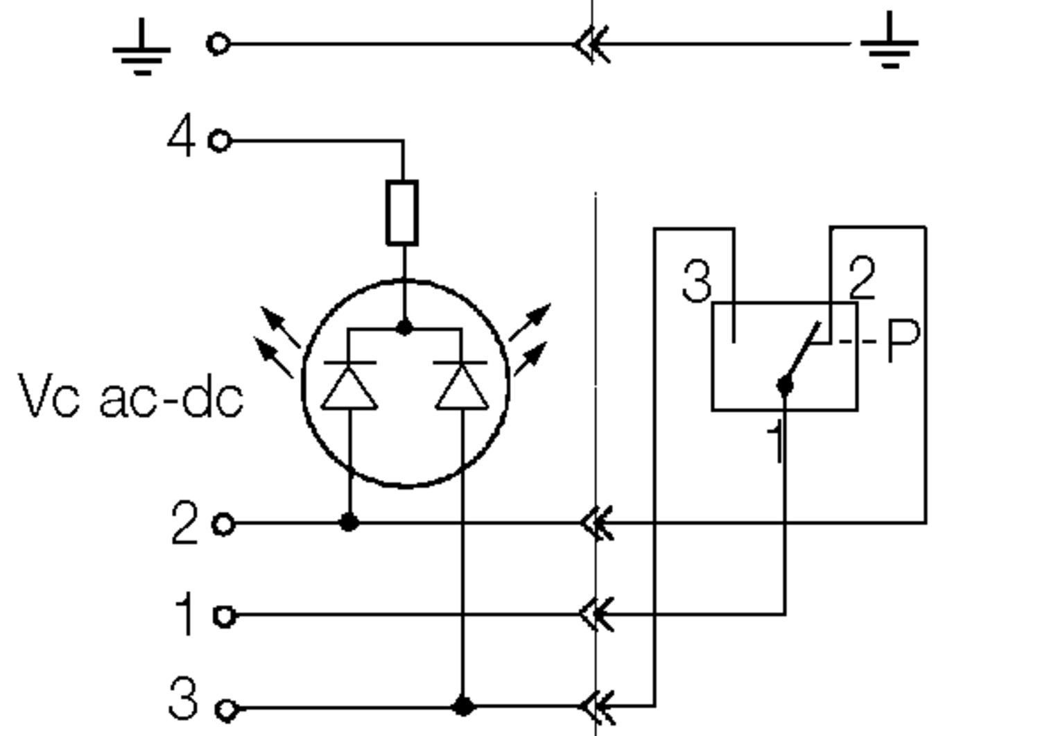Pressure switch indicator, engagement