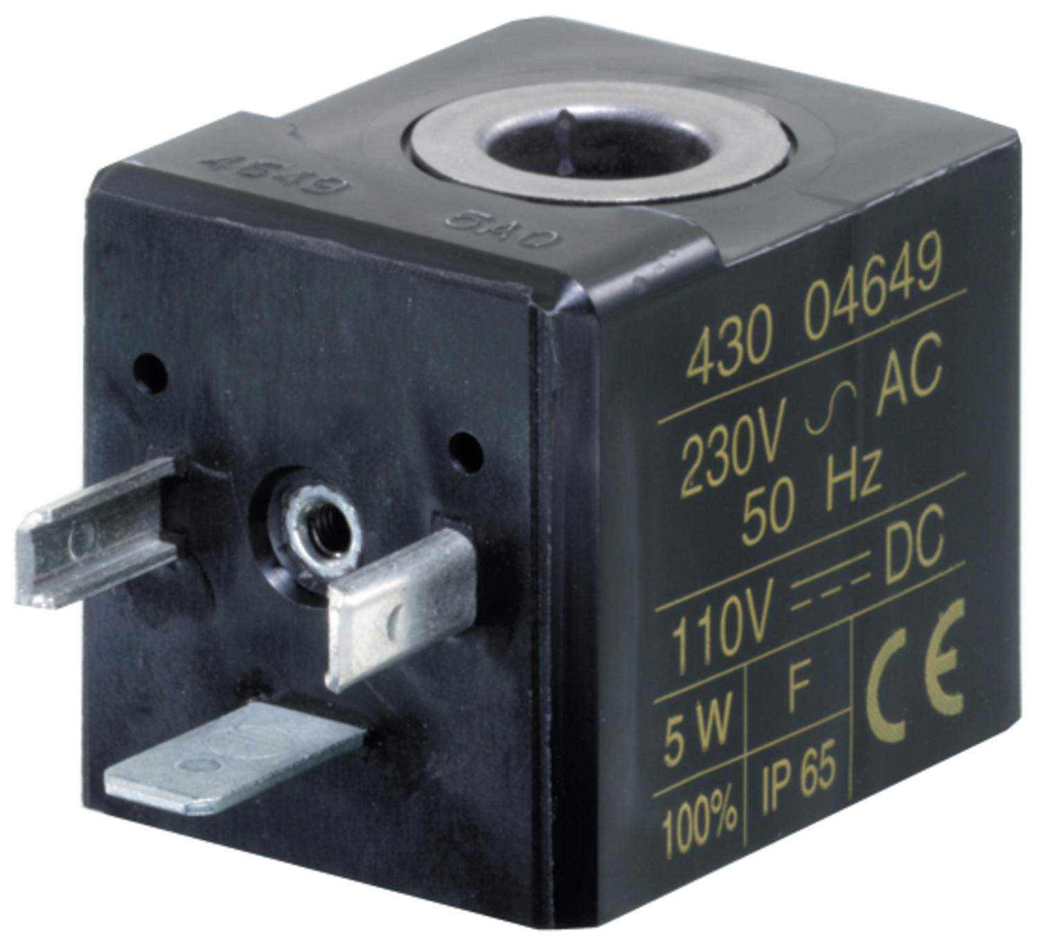 Wire dimension 25 for valve serie 190, 552 and 553;